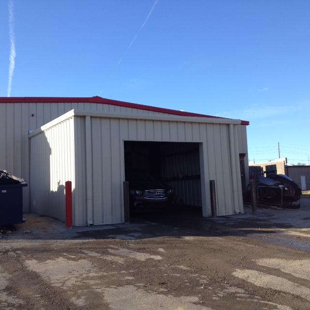 Single Metal Garage Building Kit : Single slope metal building kit joy studio design