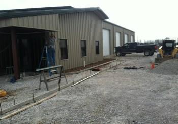 60x80x12  shop building-  $ 25,000 plus taxes
