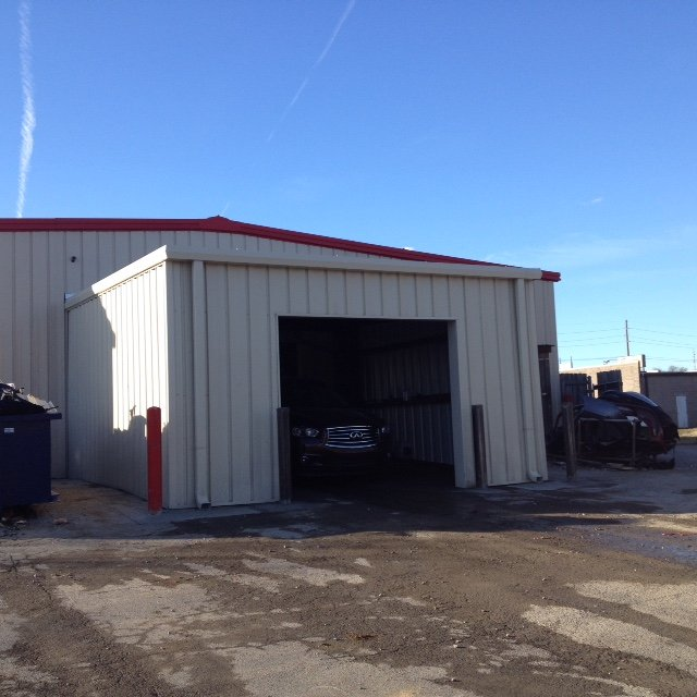 after car wash metal building single slope Wright Building Systems Madison TN.JPG