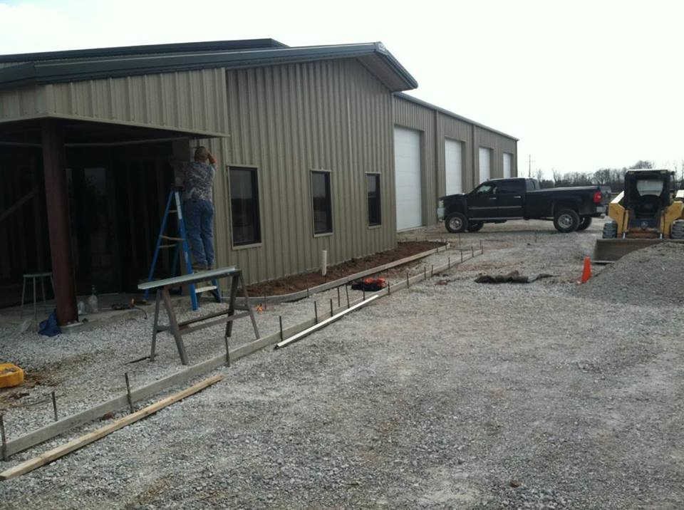 ky-warehouse-metal-building-lexington-red-primer-office